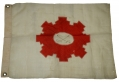 SHERIDAN'S CAVALRY CORPS FLAG FOR G.A.R. HALL OR ENCAMPMENT USE