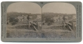 STEREO CARD OF CULP'S HILL, GETTYSBURG