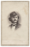 VERY NICE, CLEAN CDV OF 15TH PENNSYLVANIA CAVALRY OFFICER