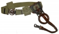 1910 MOUNTED GARRISON BELT WITH RIFLE BELT RING AND HOOK