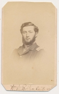 CDV OF 64TH NEW YORK SOLDIER WOUNDED AT FAIR OAKS AND CHANCELLORSVILLE