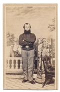 IDENTIFIED CDV PHOTO OF 8TH NY CAVALRYMAN
