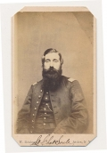 CDV OF 64TH NEW YORK SOLDIER WOUNDED AT GETTYSBURG
