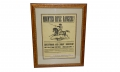 "ORIGINAL CIVIL WAR RECRUITING BROADSIDE – ""MOUNTED RIFLE RANGERS"""