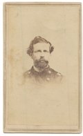 BUST VIEW CDV OF LIEUTENANT COLONEL CHARLES B. HINSDILL