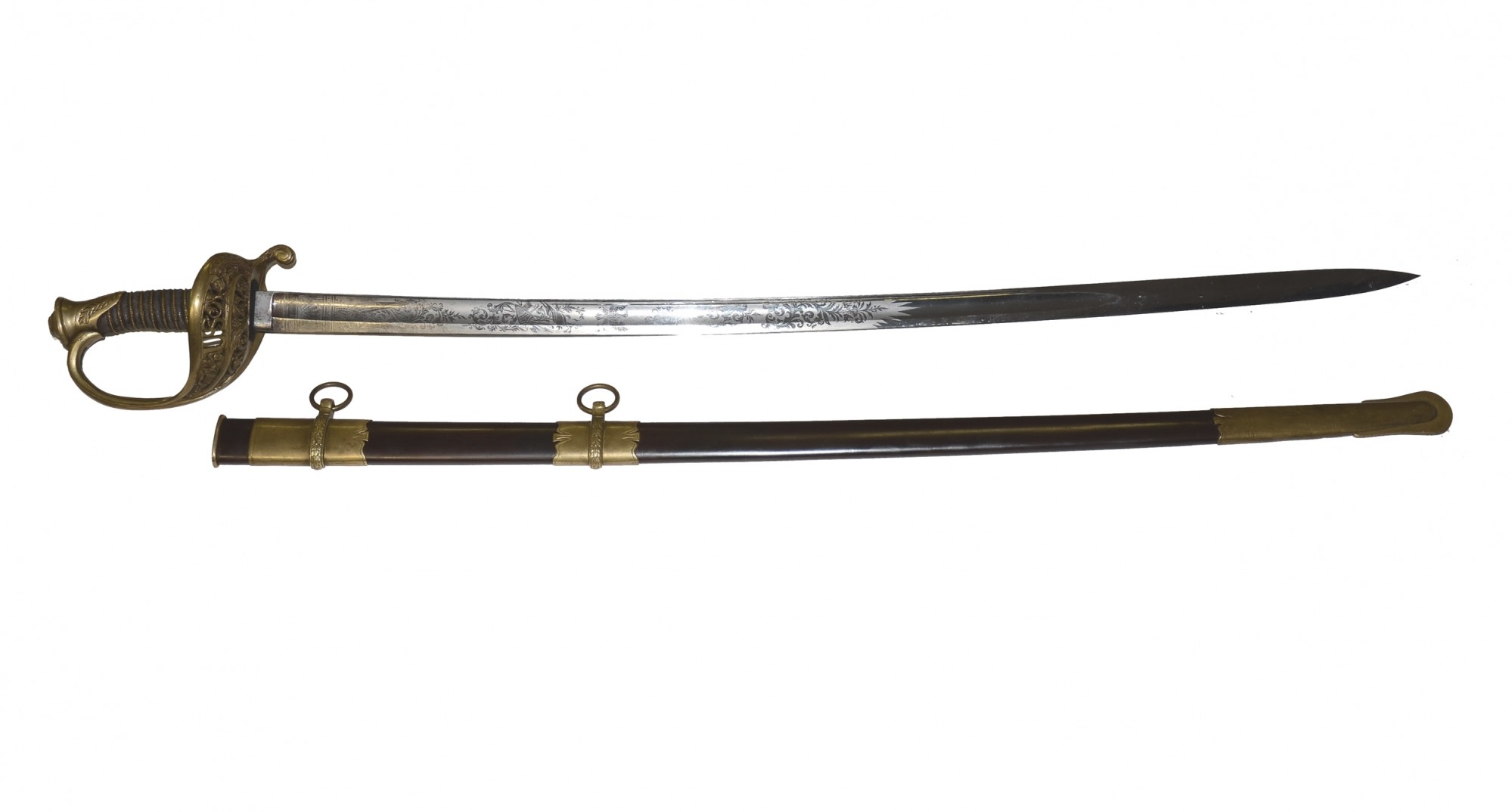 IMPORT MODEL 1850 STAFF AND FIELD OFFICER'S SWORD