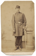 FULL STANDING CDV OF A US MARINE OFFICER