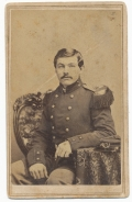 CDV OF ONE OF THE FEW AND THE PROUD - 19TH CENTURY STYLE