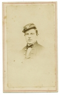CDV BUST VIEW OF CIVIL WAR US MARINE