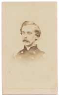 BUST VIEW CDV OF COLONEL JOSEPH HOWLAND 16TH NEW YORK INFANTRY