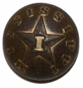 "DUG CONFEDERATE MISSISSIPPI ""I"" BUTTON"