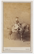 CDV YOUNG BOY ON A PONY