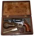 CASED COLT 1849 POCKET MODEL IN EXCELLENT CONDITION