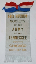 ARMY OF TENNESSEE REUNION RIBBON -1916