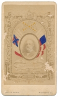 MEMORIAL CARTE DE VISITE CS GEN. ROBERT E. LEE