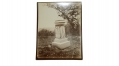 LARGE ALBUMEN PHOTO OF MONUMENT AT GETTYSBURG TO THE 7TH INDIANIA VOLUNTEER INFANTRY