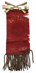 REUNION RIBBON FOR THE 88TH PENNSYLVANIA INFANTRY