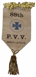 REUNION RIBBON FOR 88TH PENNSYLVANIA INFANTRY