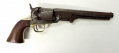 ORIGINAL WARTIME COLT MODEL 1851 'NAVY' REVOLVER WITH PERIOD ALTERATION TO ACCEPT A STOCK