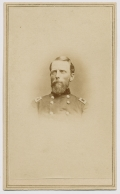 BUST VIEW CDV OF CUVIER GROVER AS A BRIGADIER GENERAL