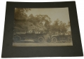 ALBUMEN PHOTO OF AN EARLY AUTO TOUR OF THE GETTYSBURG BATTLEFIELD AT DEVILS DEN