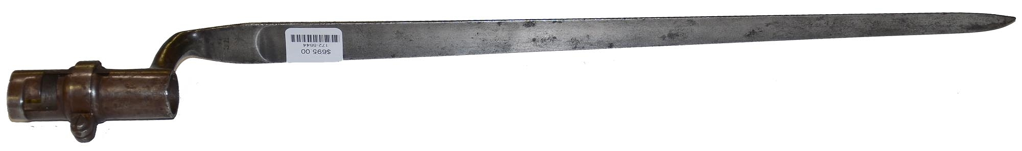 NICE MODEL 1851 CADET SOCKET BAYONET