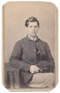 CDV ATTRIBUTED TO 4TH NEW HAMPSHIRE SOLDIER