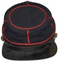 IDENTIFIED 95th PENNSYLVANIA FORAGE CAP - GOSLINE'S ZOUAVES