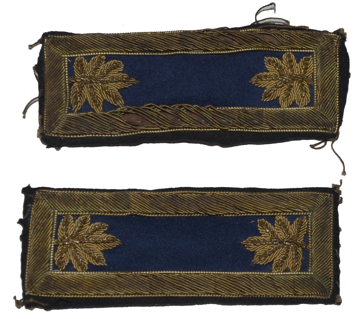 CIVIL WAR MAJOR OF INFANTRY SHOULDER STRAPS