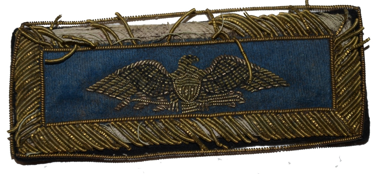 INDIAN WAR COLONEL OF INFANTRY SHOULDER STRAP