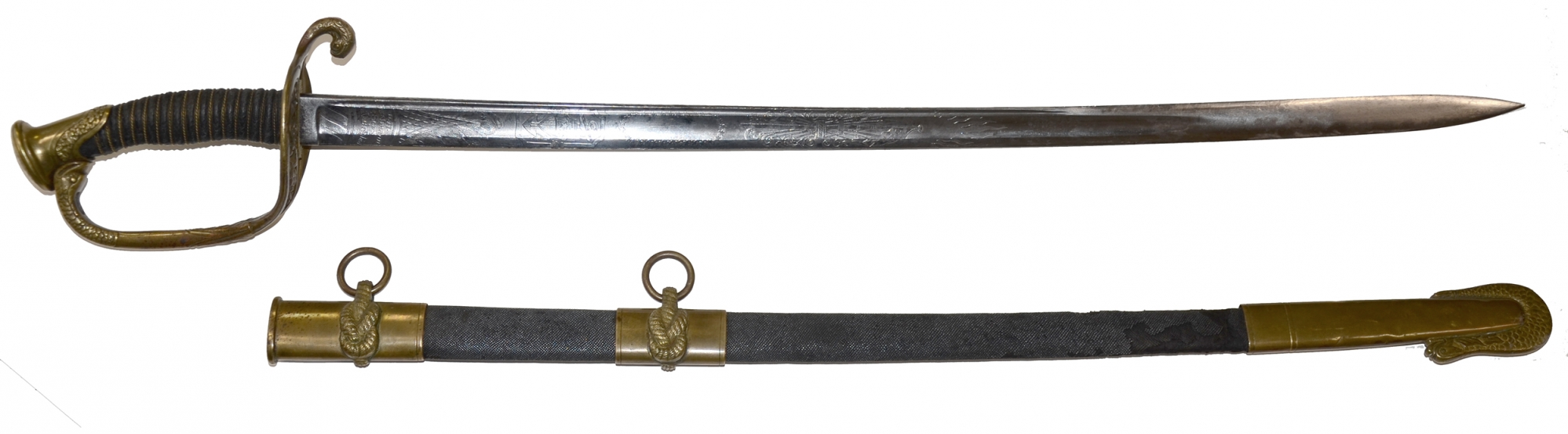 MODEL 1852 U.S. NAVY OFFICER'S SWORD BY HORSTMANN