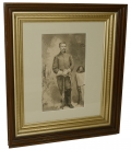 FRAMED PORTRAIT OF A MEMBER OF THE ANDERSON TROOP, 15th PA CAVALRY