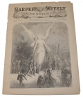 HARPER'S WEEKLY, JULY 8, 1865 - LINCOLN CONSPIRATOR TRIAL