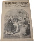 HARPER'S WEEKLY, APRIL 16, 1864  - NEW YORK METROPOLITAN FAIR