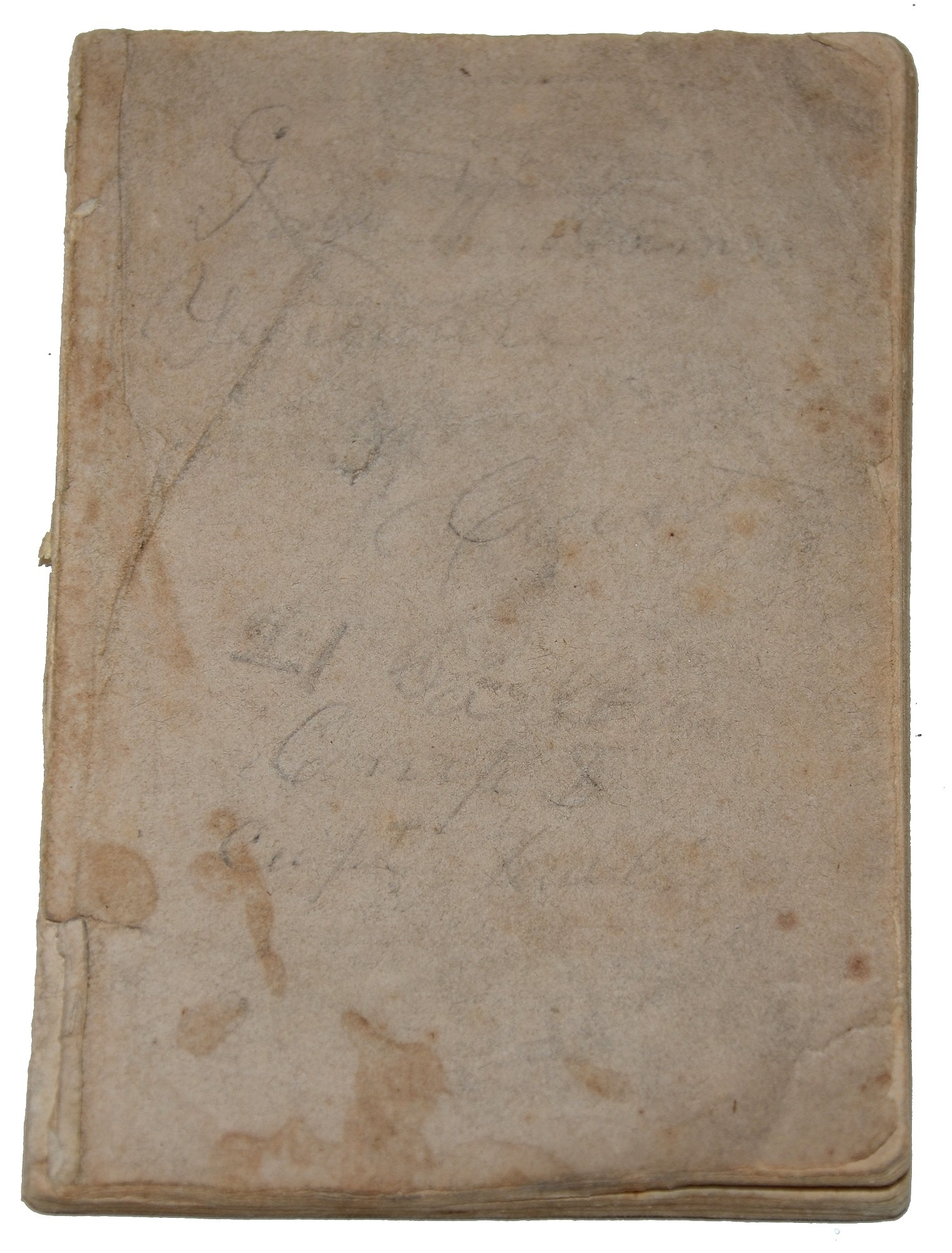 INSCRIBED SOLDIER'S PRAYER BOOK OF GEORGE W. MOWERS Co. D 21st PA CAVALRY