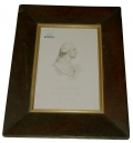 FRAMED GEORGE WASHINGTON ENGRAVING