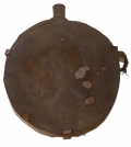 CONFEDERATE STYLE ADAPTATION OF THE US MODEL 1858 SMOOTH SIDED CANTEEN