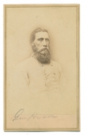 CDV OF CONFEDERATE GENERAL JOHN BELL HOOD BY ANTHONY