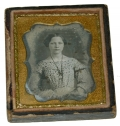 NINTH PLATE DAGUERREOTYPE OF YOUNG LADY