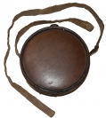 CONFEDERATE WOOD DRUM CANTEEN WITH SLING AND SPOUT