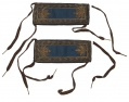 MAJOR OF INFANTRY SHOULDER STRAPS WITH SHOE-STRING TIES