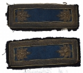 CIVIL WAR LIEUTENANT COLONEL OF INFANTRY SHOULDER STRAPS