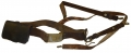 M1851 US CAVALRY BELT RIG WITH PLATE, ALL STRAPS, AND PISTOL CARTRIDGE BOX