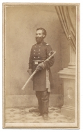 FULL STANDING CDV OF 4TH NEW HAMPSHIRE COLONEL