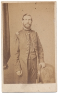 THREE QUARTER STANDING VIEW OF GENERAL ADAM J. SLEMMER