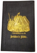 OLIVER CROMWELL'S POCKET BIBLE FOR SOLDIERS, REPRINTED BY THE AMERICAN TRACT SOCIETY, CARRIED BY C.E. DEARING 16th MAINE