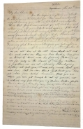 A VERY TOUCHING THANKGIVING 1863 LETTER TO CHARLES E. DEARING 16th MAINE FROM HIS FAMILY