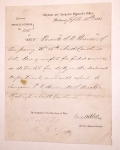 CONFEDERATE SPECIAL ORDERS REGARDING S.W. BREWER 26th NORTH CAROLINA, WAR SOUVENIR OF CHARLES E. DEARING 16th MAINE