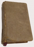 1861 DATED BRITISH IMPORT BIBLE FOUND BY CHARLES E. DEARING IN A RICHMOND TOBACCO WAREHOUSE AS P.O.W. AFTER GETTYBURG