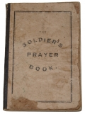 IDENTIFIED PRAYER BOOK FROM GEORGE W. MOWERS, 21st PA CAV AND 87th PA INF. POSSIBLY A GETTYSBURG SOUVENIR